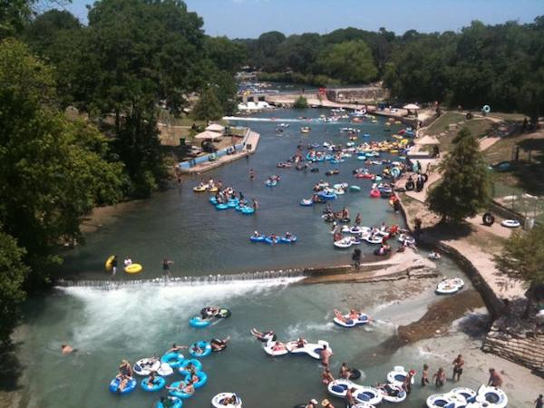 Travel to New Braunfels