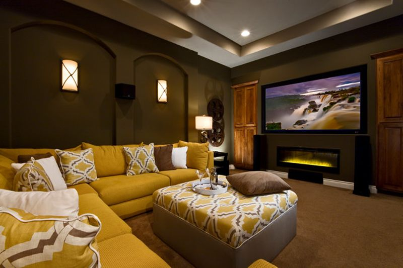 contemporary-home-theater