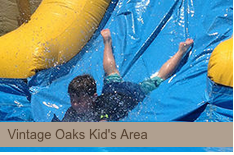 kids area at vintage oaks