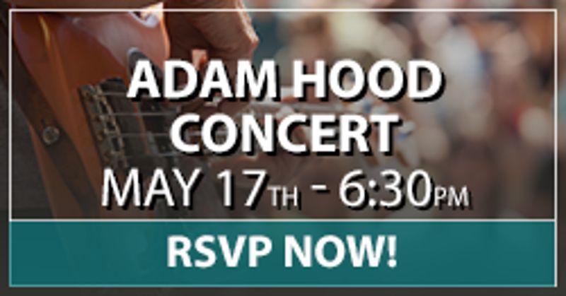Adam hood Concert