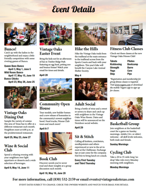 Community Event Calendar