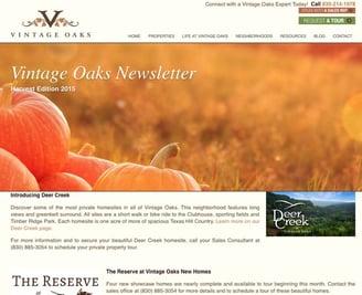 Harvest Edition 2015 Newsletter