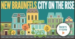 New Braunfels City on the Rise