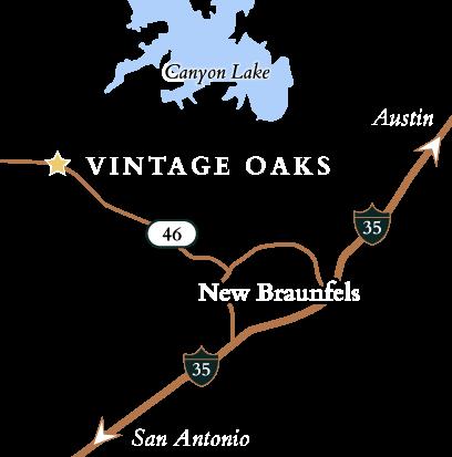 Vintage Oaks Map