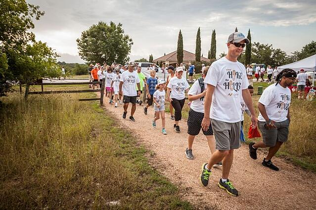 Hike the Hills, Hill Country event