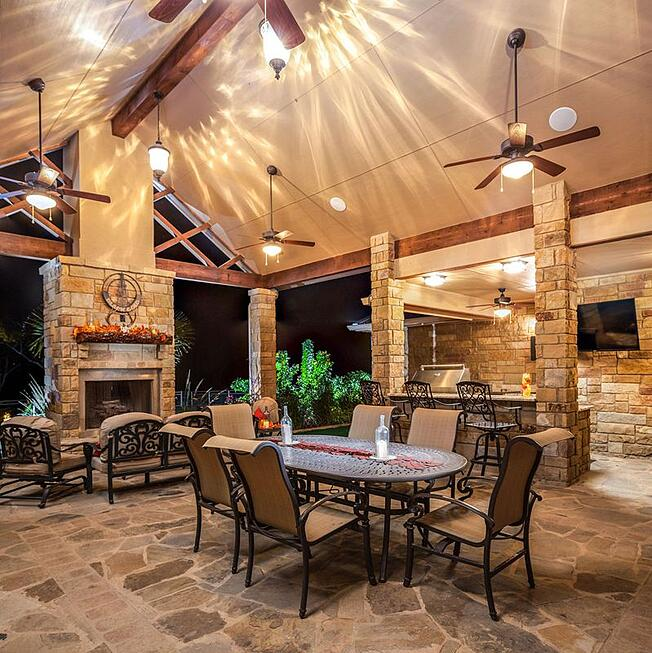 KC Custom Homes Patio