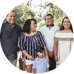 Veronica & Manuel Adame and family