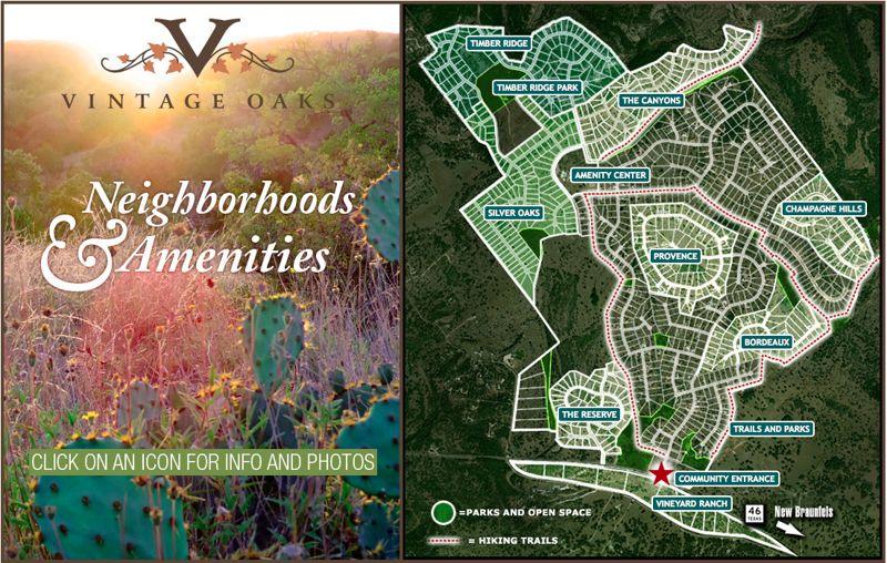 Vintage Oaks Community Map