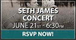 Seth James Concert - RSVP NOW!
