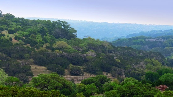 buying land in the hill country